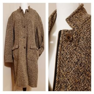 Eddie Bauer | Beautiful Tweed Wool Blend Jacket